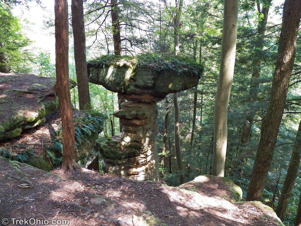 Hocking State Forest Balanced Rock Trekohio