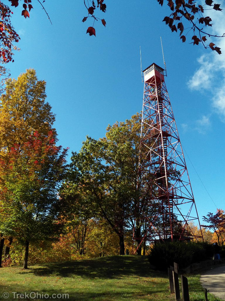 Fire-tower at Mohican State Park