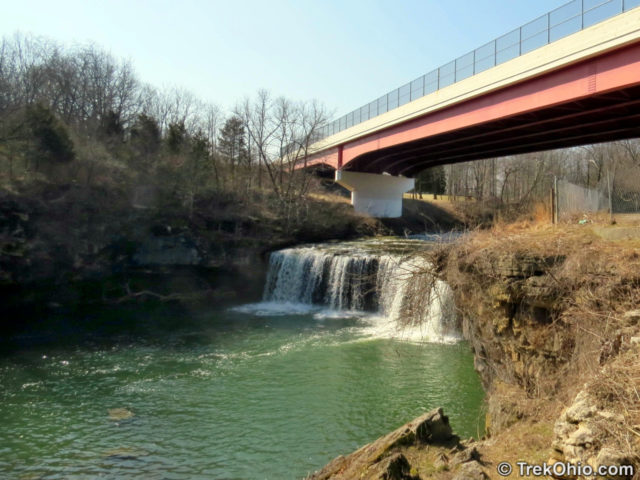 View of Ludlow Falls & Highway Bridge