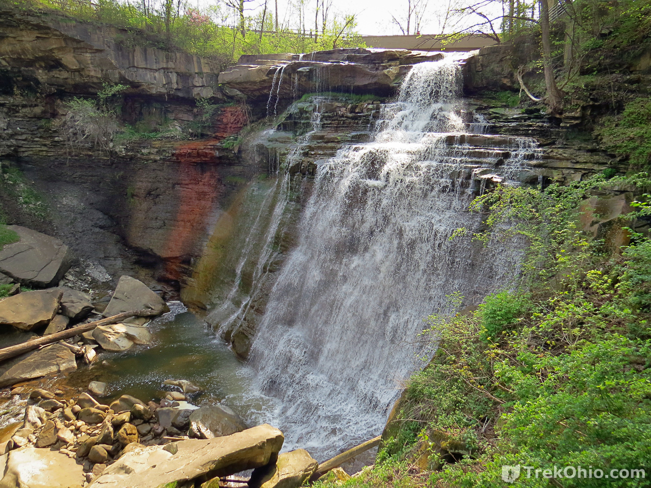 cuyahoga valley national park: brandywine, blue hen, and buttermilk