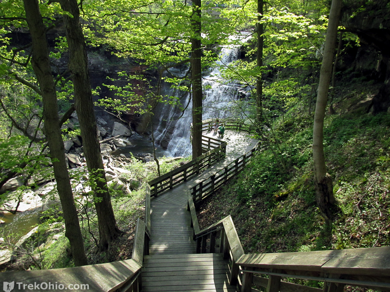 Cuyahoga Valley National Park: Brandywine, Blue Hen, and Buttermilk ...
