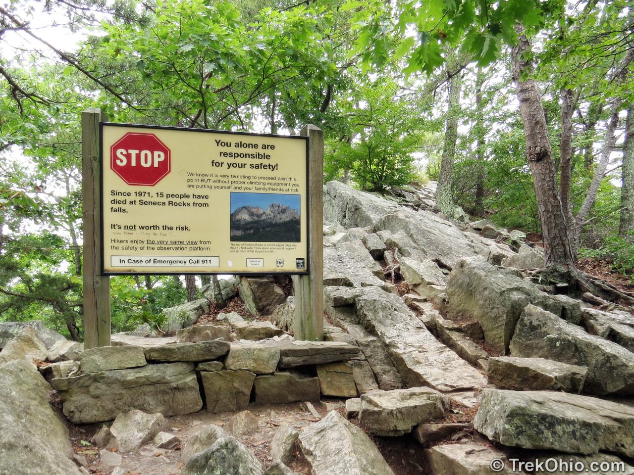 West Virginia: Seneca Rocks | TrekOhio