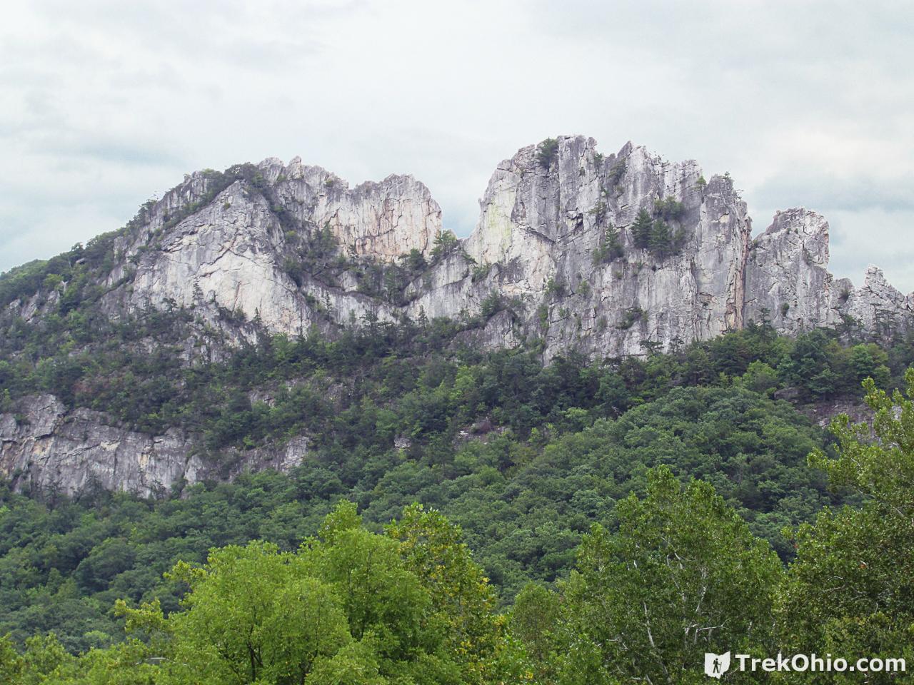 Seneca Rocks Wv >> West Virginia Seneca Rocks Trekohio