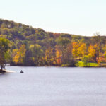 The Hope Furnace Trail offered beautiful views of the lake.