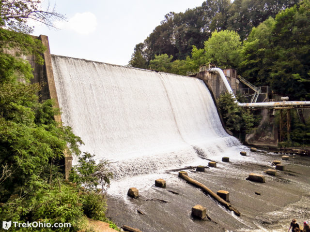 Dam at Gorge Metropark