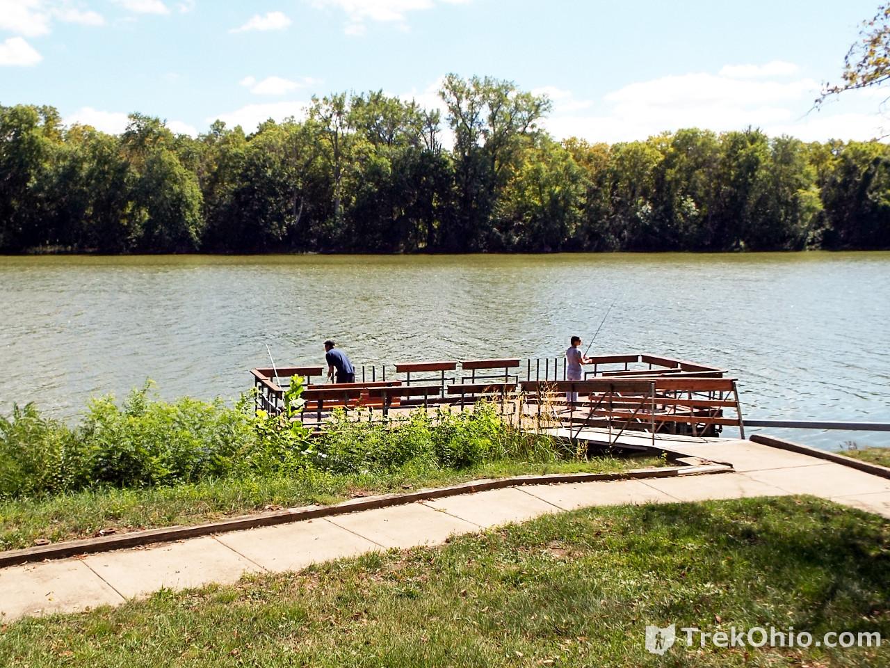 Farnsworth metropark trekohio for Fishing docks near me
