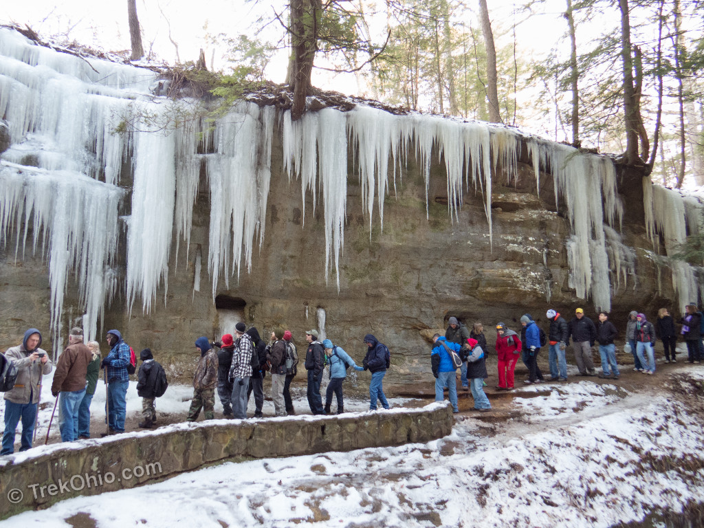 Ohio Winter Hike Calendar 2018 Trekohio