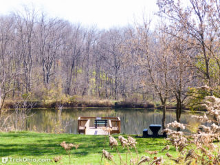 Pond at Wolf Run.