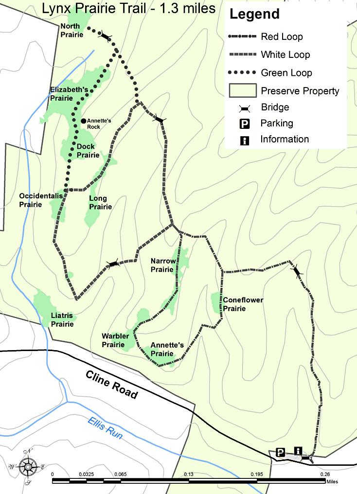 Edge Of Appalachia Lynx Prairie Trail TrekOhio - Appalachia map