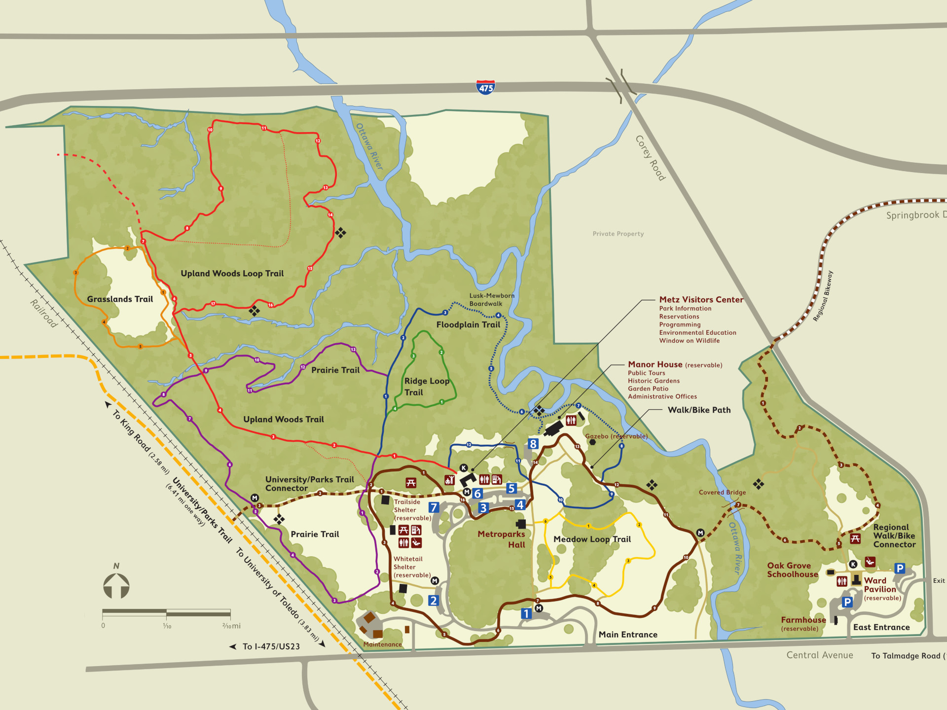 Wildwood Preserve in Metroparks Toledo | TrekOhio